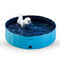 Foldable Dog Pool Pet Bath Inflatable Swimming Tub - Dennet
