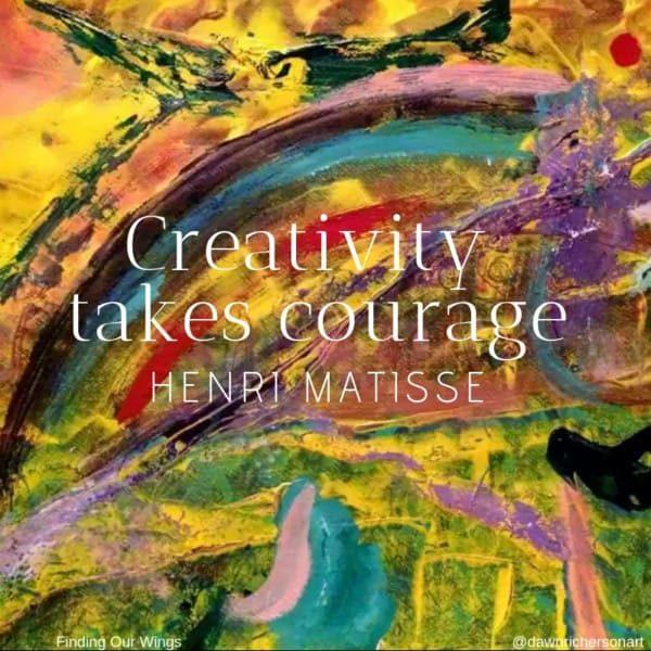 The Courage to Create: Guts, Glory, Gracious Gap