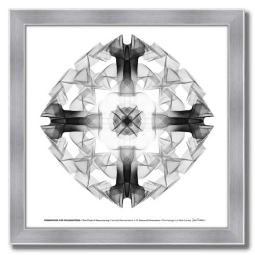 #2 Framework for Foundations ☼ Diamond Dimensions SEA Series {Art Print}