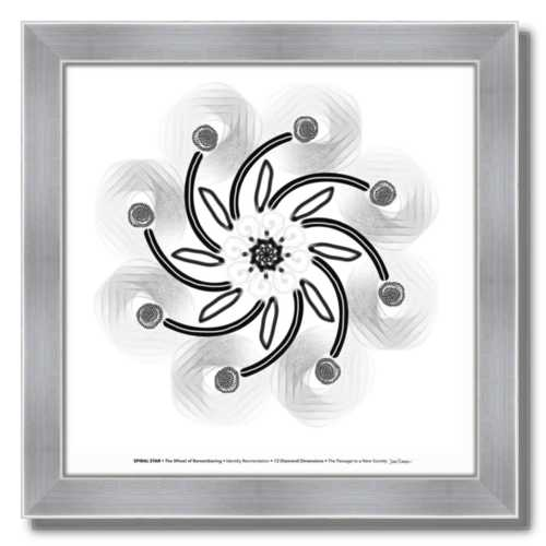 #3 Spiral Star ☼ Diamond Dimensions SEA Series {Art Print}