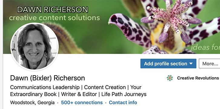Connect with Dawn Richerson on LinkedIn