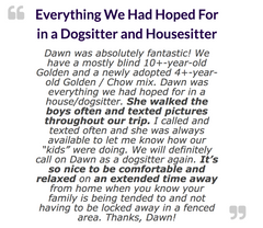 Dogsitting Recommen dation Review Recommended Dogsitter Georgia
