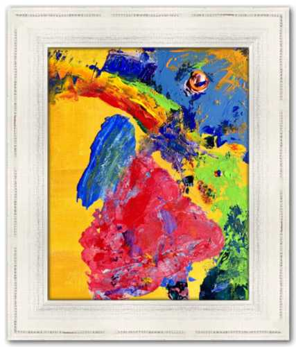 Gods of Confusion Spirited Life Painting Dawn Richerson Art Print Abstract Painting Childhood Joy
