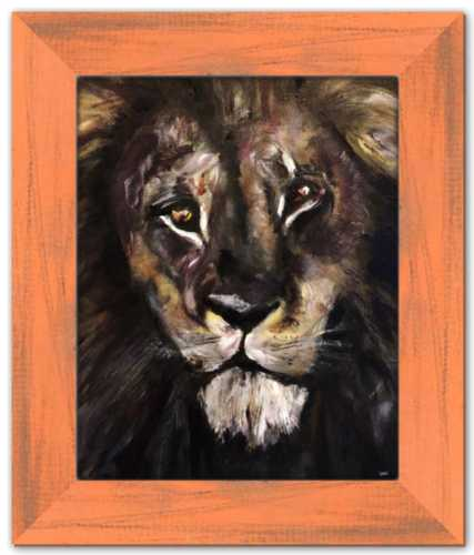 Lion's Gate: Return of the Golden Son Spirited Life Painting Dawn Richerson Art