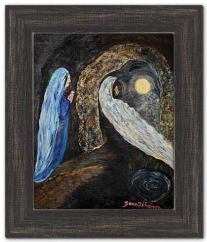 Presence to Passage Magdalen Painting Dawn Richerson Painting Jesus Healing Waters Cave