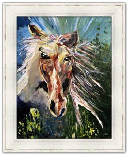 Spirited from the Spirited Life Collection Dawn Richerson Art Prints Kentucky Derby Kentucky Spring Horse Painting