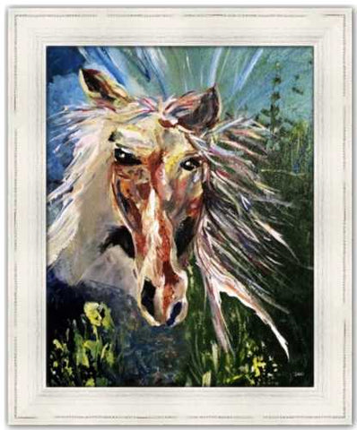 Spirited Life Horse Painting by Dawn Richerson
