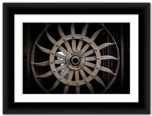 Wheel of Wonder Soul of Shape Photograph Dawn Richerson Photo Print