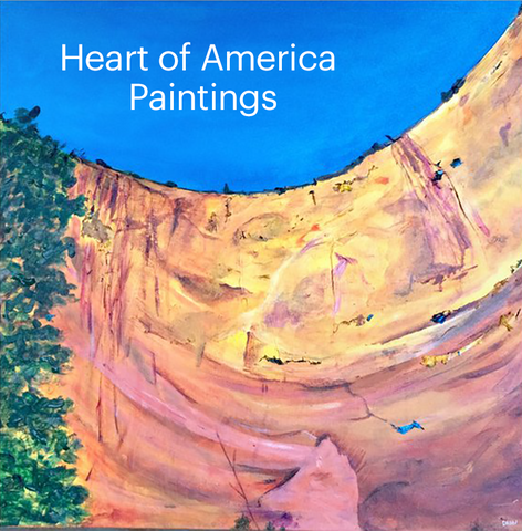 Heart of America Paintings by Dawn Richerson