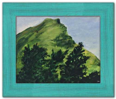 On the Edge of Forever Soul of Ireland Painting Framed County Sligo Painting Gleniff Horseshoe