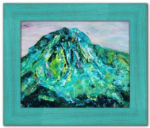 Oratory of the Angels Ireland Painting Mt. Errigal Painting Donegal