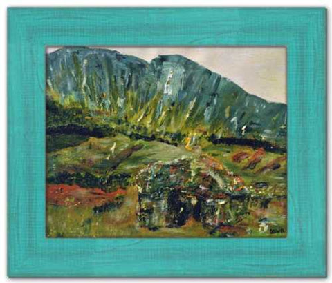 Rock of Ages Soul of Ireland Painting Gleniff Horseshoe County Sligo Painting