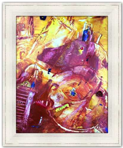 Day of the Disillusioned Spirited Life Painting Dawn Richerson Art Abstract Painting