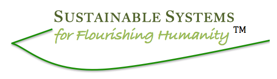 Sustainable Systems for Flourishing Humanity / Designs for Life by Dawn Richerson