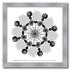 #4 Exploring Expansion ☼ Diamond Dimensions SEA Series {Art Print} Design Print New Dawn Studios 10x10 Framed