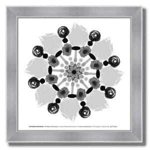 #4 Exploring Expansion ☼ Diamond Dimensions SEA Series {Art Print} Design Print New Dawn Studios 8x8 Framed