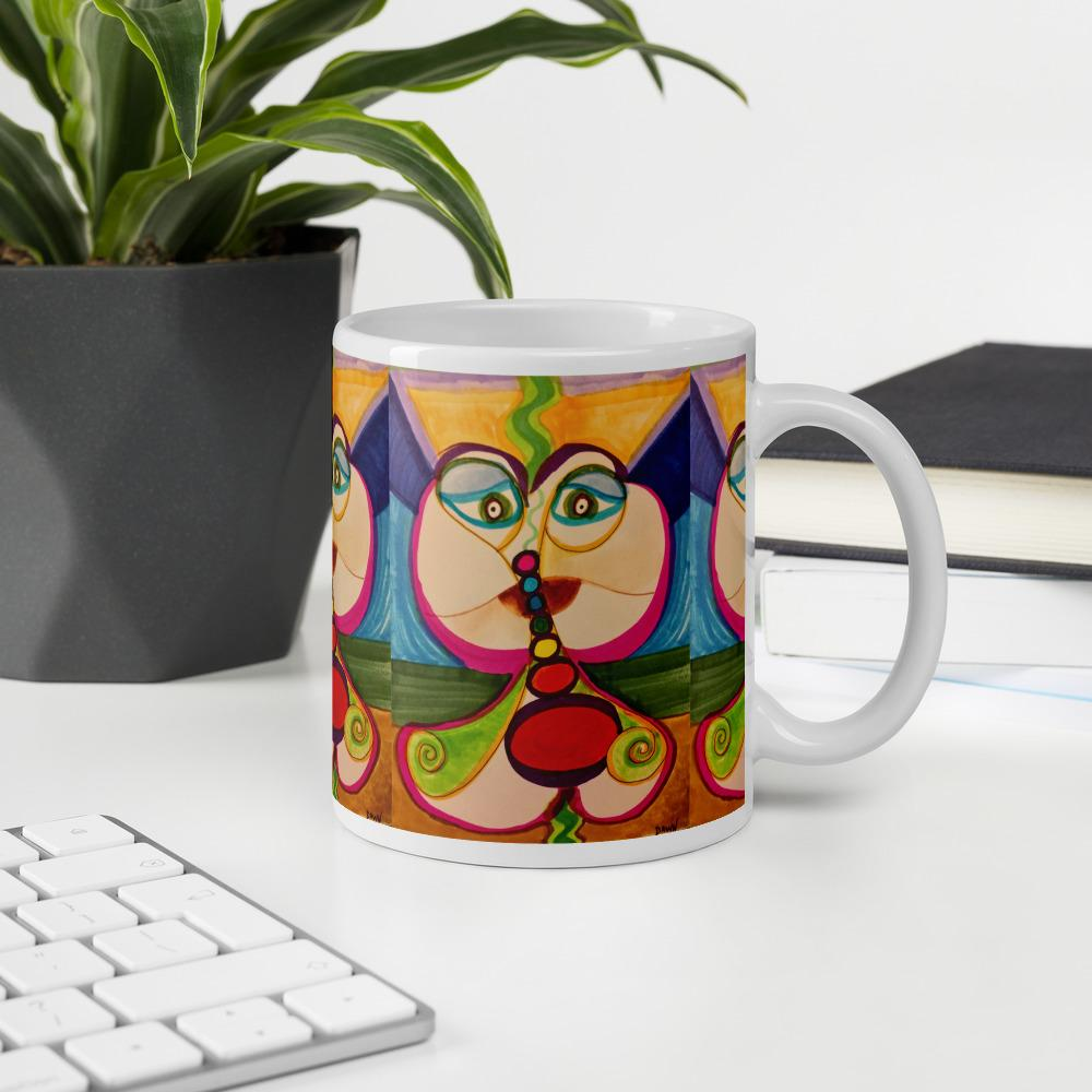 Bubble Burst ☼ Sacred Partners SEA Series Mug Mugs Dawn Richerson