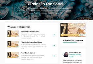 Circles in the Sand Journey Life Path