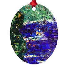 Load image into Gallery viewer, Confetti Cliffs ☼ Soul of Ireland Metal Ornament Ornament New Dawn Studios