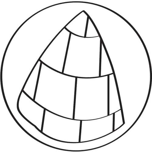 Conical SEA Symbol — Download the Full Coloring Book Here! SEA New Dawn Studios