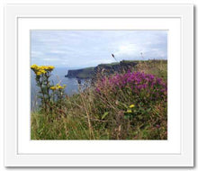 Load image into Gallery viewer, Day's Delight Cliffs of Moher ☼ Soul of Ireland {Photo Print} Photo Print New Dawn Studios 8x10 Framed