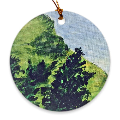 Edge of Forever Soul of Ireland Porcelain Ornament Ornament Dawn Richerson
