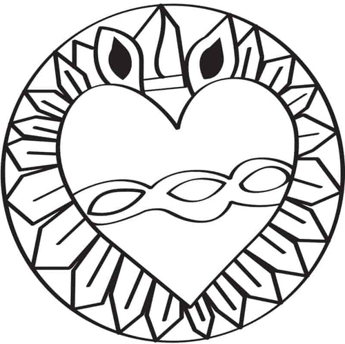 Eternal Love SEA Symbol — Download the Full Coloring Book Here! SEA New Dawn Studios