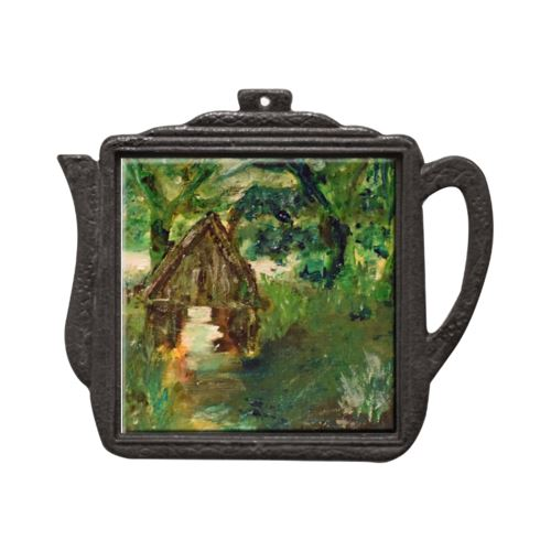 Fairies Gather Soul of Ireland Teapot Trivet Trivet New Dawn Studios