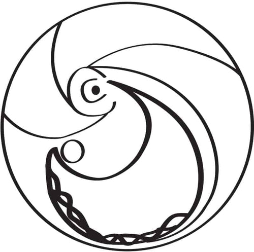 Held in Grace SEA Symbol — Download the Full Coloring Book Here! SEA New Dawn Studios