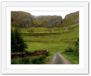 Into an Infinite Peace ☼ Soul of Ireland {Photo Print} Photo Print New Dawn Studios 11x14 Framed