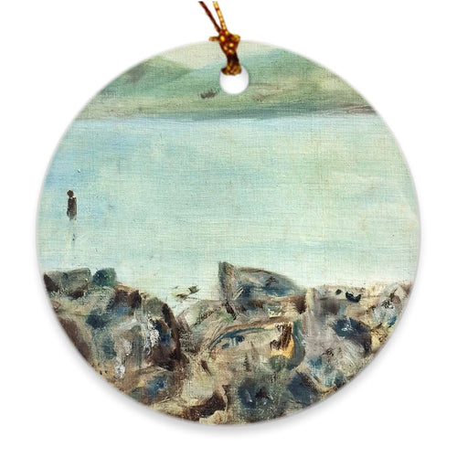 Lough Allen View Porcelain Ornament Ornament Dawn Richerson