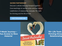 Load image into Gallery viewer, Sacred Partnership Journey Life Path