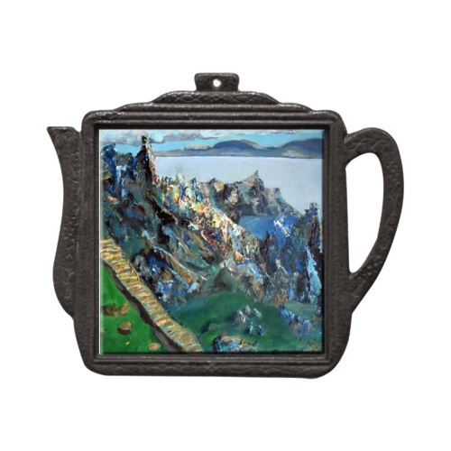 Stairway to Surrender Ireland Teapot Trivet Trivet New Dawn Studios