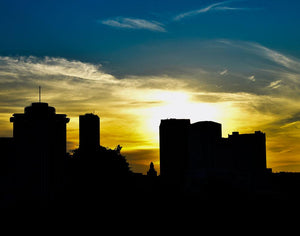 Sunset, City of New Orleans ☼ Soul of Place {Photo Print} Photo Print New Dawn Studios