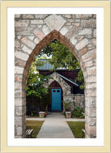Load image into Gallery viewer, The Blue Door ☼ Soul of Place • Salado, Texas {Photo Print} Photo Print New Dawn Studios 12x18 Framed