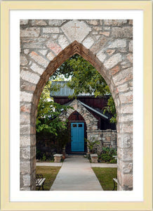 The Blue Door ☼ Soul of Place • Salado, Texas {Photo Print} Photo Print New Dawn Studios 12x18 Framed