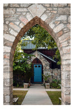 Load image into Gallery viewer, The Blue Door ☼ Soul of Place • Salado, Texas {Photo Print} Photo Print New Dawn Studios 12x18 Unframed