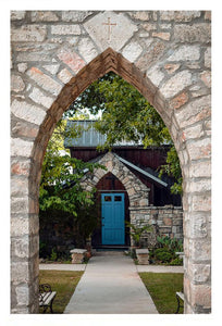 The Blue Door ☼ Soul of Place • Salado, Texas {Photo Print} Photo Print New Dawn Studios 12x18 Unframed