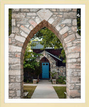 Load image into Gallery viewer, The Blue Door ☼ Soul of Place • Salado, Texas {Photo Print} Photo Print New Dawn Studios 16x20 Framed
