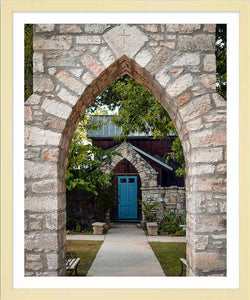 The Blue Door ☼ Soul of Place • Salado, Texas {Photo Print} Photo Print New Dawn Studios 16x20 Framed