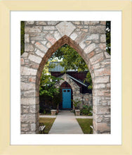 Load image into Gallery viewer, The Blue Door ☼ Soul of Place • Salado, Texas {Photo Print} Photo Print New Dawn Studios 8x10 Framed