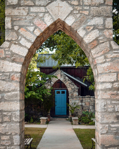 The Blue Door ☼ Soul of Place • Salado, Texas {Photo Print} Photo Print New Dawn Studios 8x10 Unframed