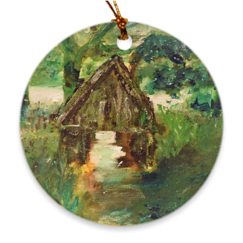 Where Fairies Gather Soul of Ireland Porcelain Ornament Ornament Dawn Richerson