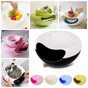 Double Layer Snack Bowl