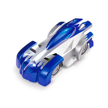 Load image into Gallery viewer, Anti Gravity Wall Climbing Remote Control Car Blue