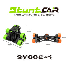 Load image into Gallery viewer, 4WD Remote Control Stunt Car