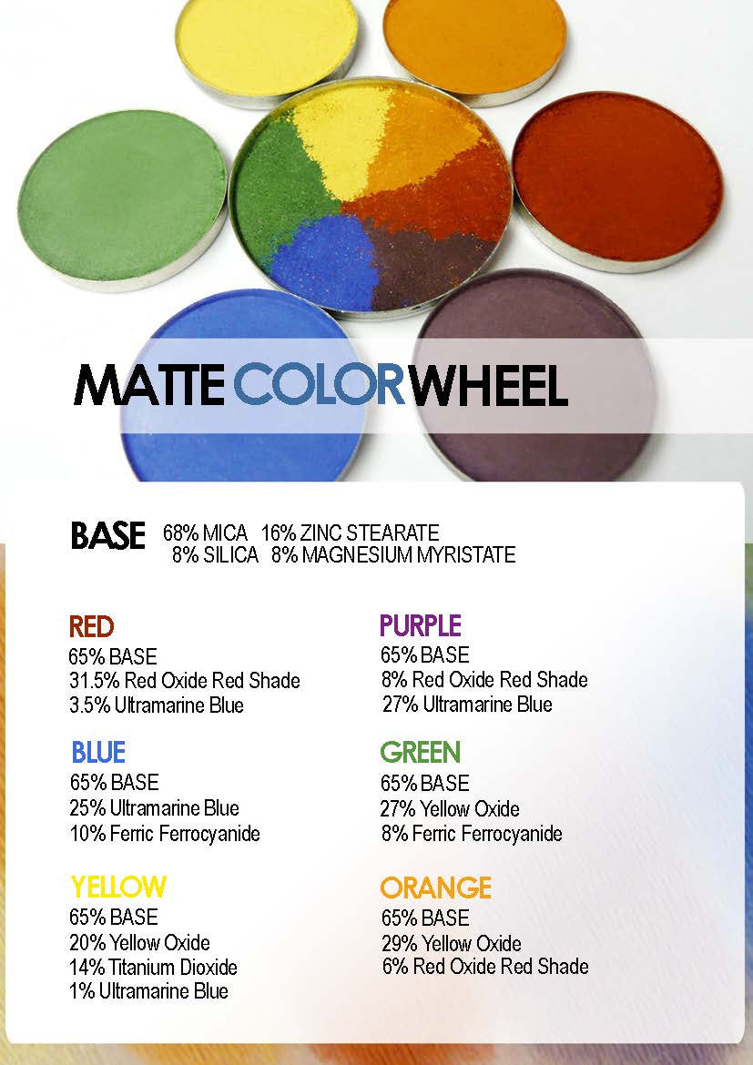 TKB Trading Matte Color Wheel