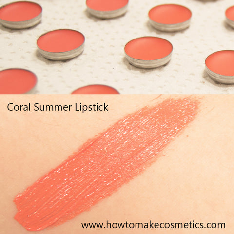TKB Coral Summer Lipstick recipe