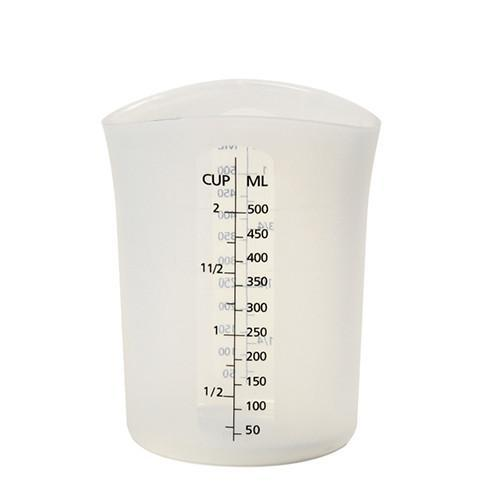 Silicone Measuring Cups, 2 Cups / 500 ml