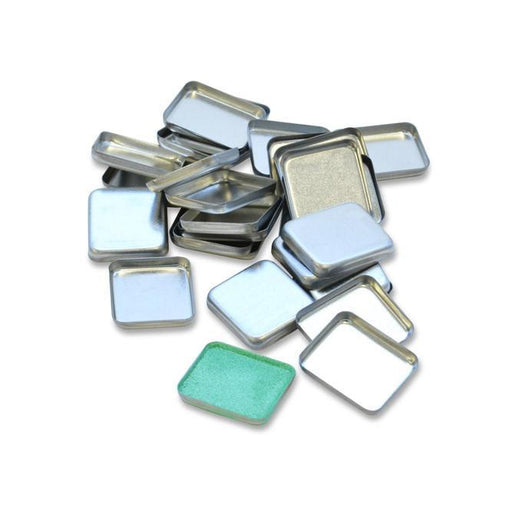 Tin Pans 24x21mm Rectangle